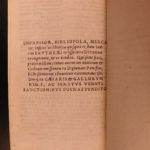 1539 1st ed Works of VIRGIL Bucolics Aeneid Georgics FAMOUS Erythraeus Index