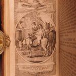 1796 Don Quixote Cervantes Chivalry English Smollett Translation Illustrated 5v