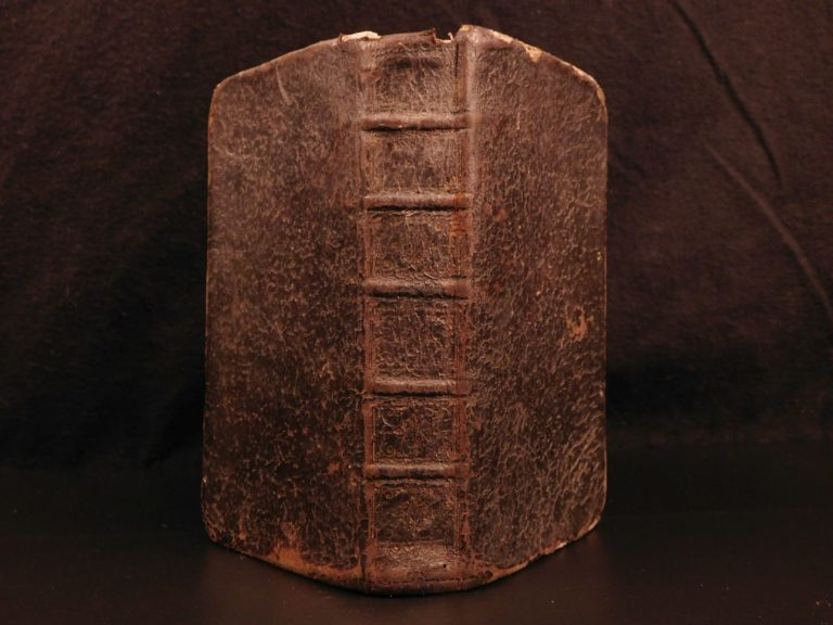 Image of 1675 Blaise Pascal PENSEES Christian Apologetic Pascal's Wager French Philosophy