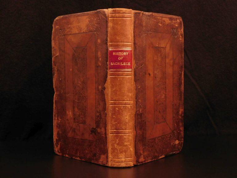 Image of 1698 History & Fate of Sacrilege Henry Spelman Reformation Church LAW Monastics