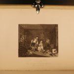 1880 William Hogarth Illustrated ART Political Satire Hudibras Rake Progress 6v