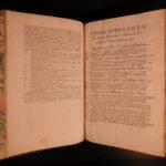 1546 Estienne BIBLE Zurich Vulgate Vatablus Biblia Paris HUGE FOLIO Illustrated
