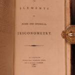 1799 Elements EUCLID Greek Mathematics Logic Geometry Math Illustrated Simson