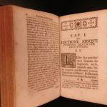 1751 Grammaticae Hebraica-Chaladicae Johann DANZ Hebrew Grammar Judaica Torah