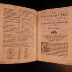 1581 1st ed Ruscelli Commentary on Italian Language Rhetoric & Grammar ITALY
