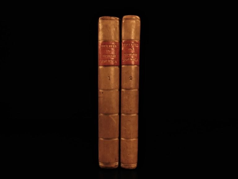 Image of 1839 1ed Travels in North America Native Americans Pawnee INDIANS Cuba Murray