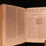 1560 13th-c Criminal LAW Italian Albertus Gandino Torture WITCHES Evil Occult
