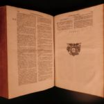1616 ENORMOUS FOLIO of Saint Basil the Great Caesarea Greek Orthodox Nicene