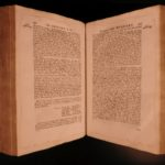 1722 1st English ed History of QUAKERS Dutch Willem Sewel Penn Turkish Pirates