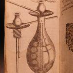 1630 Tabacologia TOBACCO in America Neander Medicine Nicotine Alchemy Smoking