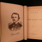 1882 Edgar Allan Poe Illustrated The Raven Bells OCCULT Horror Poetry Memoir