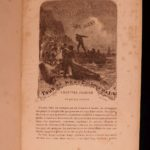 1881 1st ed Jules VERNE 20,000 Leagues Under the Sea French Illustrated CLASSIC