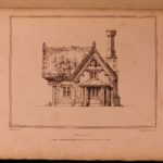 1823 1ed Rural English Architecture Cottages & Farms Houses Illustrated Robinson