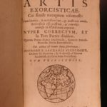 1619 EXORCISM Manual Satan Demon Possession Occult Witchcraft Zacharia Visconti