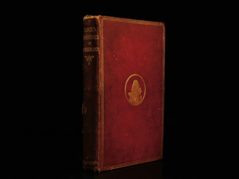 Image of 1868 1ed Alice in Wonderland Lewis Carroll Tenniel Illustrated Fantasy Classic