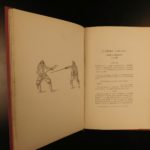 1894 1ed Fencing Through the Ages Eekhoud Sword Fighting Techniques L'Escrime