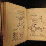 1853 Wilkinson EGYPT Mythology Hieroglyphics Illustrated Egyptian Customs 2v SET
