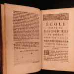 1716 Ecole Parfaite FRENCH Cuisine Cookbook Restaurants Food Wine Bouche Cooking