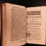 1676 Crusades Aubusson at Siege of Rhodes Greece OTTOMAN Turks Muslim Mehmed II