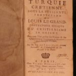 1695 The Turkish Christian La Croix Constantinople Turkey Ottoman Armenia