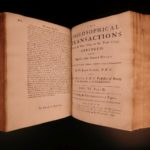 1734 Philosophical Transactions Optics Astronomy Medicine SCIENCE Ships Maps
