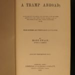 1880 1st/1st Mark Twain A Tramp Abroad Travel Illustrated Satire Alps CLASSIC