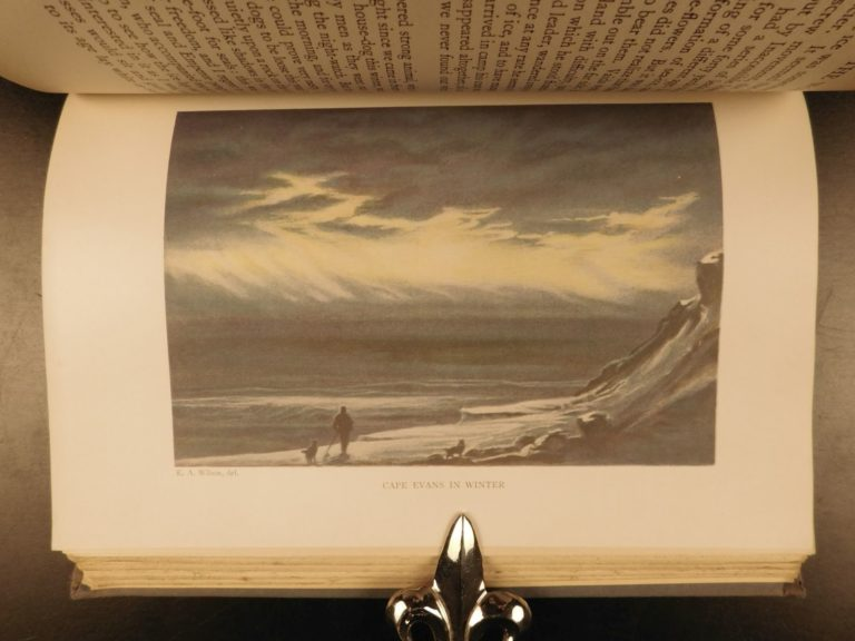 Image of 1930 1st ed Worst Journey in World Antarctica Cherry-Garrard Illustrated Voyages