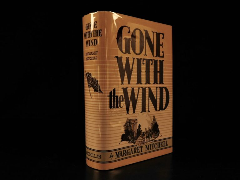 Image of 1936 1st ed Gone with the Wind Margaret Mitchell Civil War Slavery Controversy