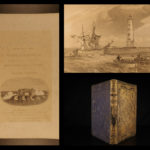 1855 1st ed Campaign in CRIMEA War Russia Ottoman Color Illustrated Brackenbury