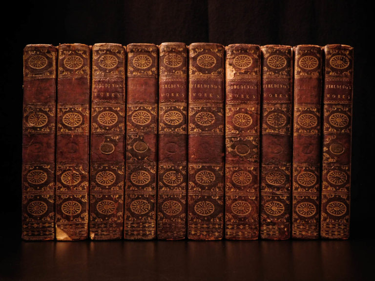 Image of 1784 Works of Henry Fielding English Theatre Plays Tom Jones Hogarth Illustrated