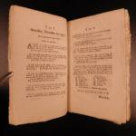 1791 New Hampshire Journal of Proceedings Politics Early Americana SENATE