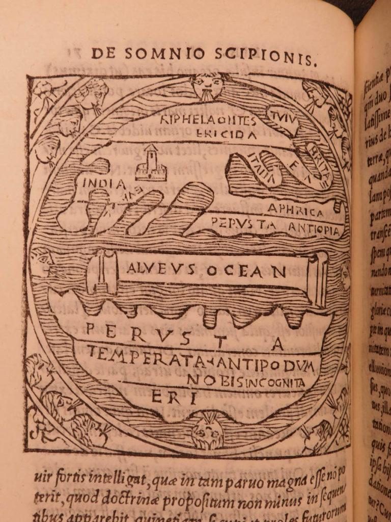 Image of 1515 1st ed Macrobius Saturnalia Dream Scipio Occult Pagan Philosophy Astronomy