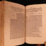 1515 1st ed Macrobius Saturnalia Dream Scipio Occult Pagan Philosophy Astronomy