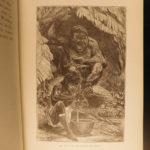1888 1st ed Jungle Hunting AFRICA Big Game Hunts Elephants Gorillas Illustrated
