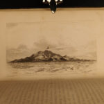 1846 1st ed Etching of Whaling Cruise Fishing Africa Browne Melville Moby Dick