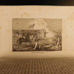 1850 Mexican American War Illustrated TEXAS Battlefields MAPS Military Cavalry
