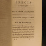 1819 French Revolution Lacretelle Precise History Louis XVI France 6v