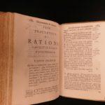 1696 1ed Rabbi MAIMONIDES Judaica Crenius Fasciculus Sextus Jewish Hebrew Rites
