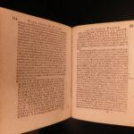 1594 Pistorius Epistolae German Letters on Martin Luther Calvin Huss Reformation