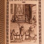 1599 Pezzi EMBLEMS La Vigna Heaven Hell Limbo Purgatory Italian Emblemata Dante
