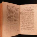 1752 DANTE Alighieri Divine Comedy Italian Inferno 1ed Bergamo Serassi & Dolce