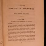 1835 1ed SIGNED John Ross Narrative of Second Arctic Voyage Inuit Eskimos