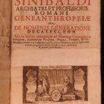 1669 1st ed Geneanthropeia Human Sexuality Bizarre Medicine Occult Sinibaldi