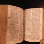 1584 Holy BIBLE Biblia Sacra Latin Vulgate Louvain University Antwerp PLANTIN