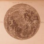 1795 Atlas of Delisle de Sales Primitive World MAPS Mythology Fossils Vesuvius