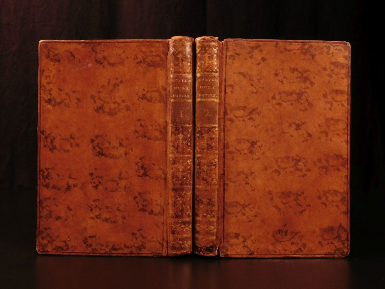 Image of 1777 RARE System of Nature Paul Holbach Philosophy Atheism Materialism French