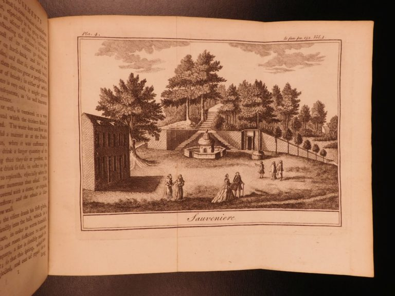 Image of 1764 1st English ed Limbourg Amusements of SPA Health Medicine Mineral Waters