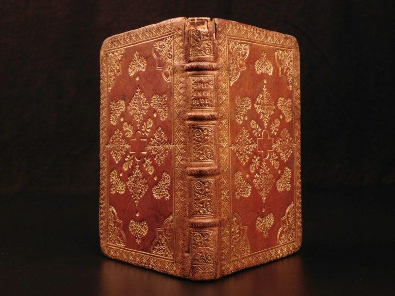 Image of 1653 Enchiridion of Epictetus Greek Latin Stoic Philosophy Cebes Tablet BINDING