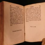 1653 Enchiridion of Epictetus Greek Latin Stoic Philosophy Cebes Tablet BINDING