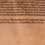 1490 1ed Nonius Marcellus Encyclopedia Incunable Greco-Roman Literature Accius